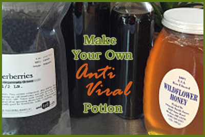 Make Your Own Anti Viral Syrup