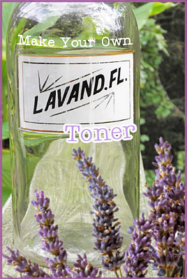 Make Your Own Lavender Toner