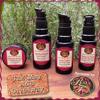 Enter theMay All Natural Beauty Giveaway!