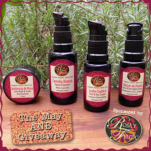 Enter the May All Natural Beauty Giveaway!