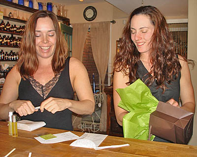 Theresa and Kim from So Botanical